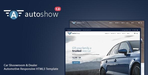 AutoShow - Car Shoowroom & Dealer Automotive Responsive HTML5 Template - Business Corporate