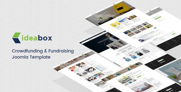 Ideabox - Crowdfunding & Fundraising Joomla Template - Joomla CMS Themes