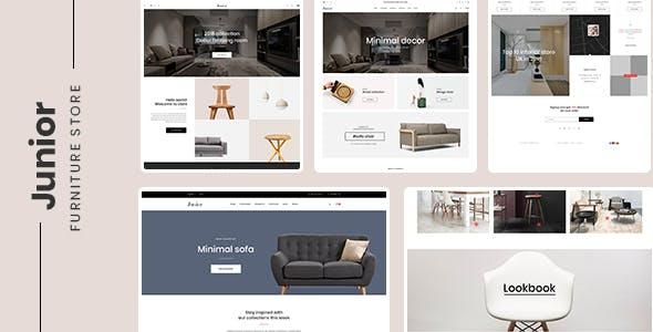 Home Decor - Prestashop 1.7.7.x Theme for Furniture & Interior
