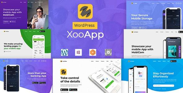 XooApp - App Landing Page WordPress Theme - Software Technology
