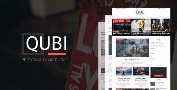 Qubi Blogger Template   Fashion, Beauty,  News & Blog Theme - Blogger Blogging