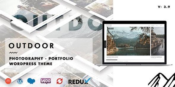 Outdoor - Creative Photography / Portfolio WordPress Theme - Photography Creative