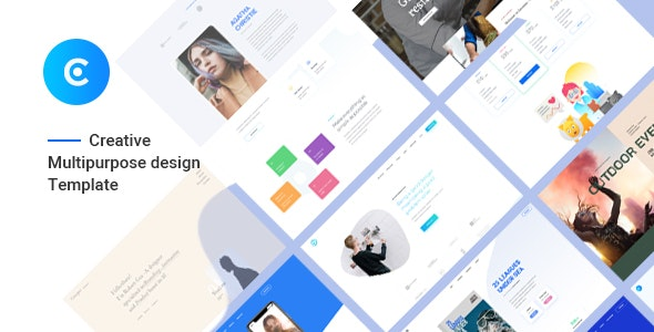 Canopus - Multiple Onepage  PSD Template - Creative Photoshop