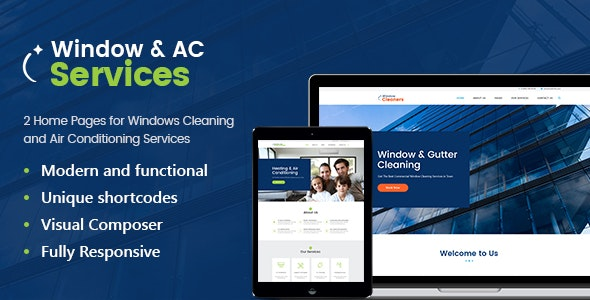AC Services | Air Conditioning and Heating Company WordPress Theme - Business Corporate