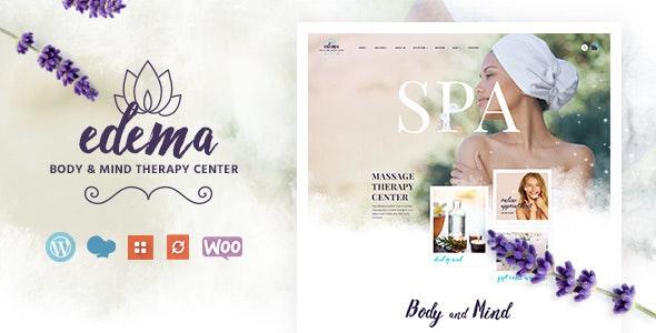 Edema   Wellness & Spa WordPress Theme - Health & Beauty Retail