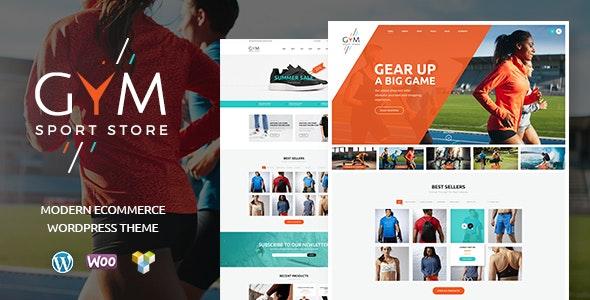 GYM   Sports Clothing & Equipment Store WordPress Theme - WooCommerce eCommerce