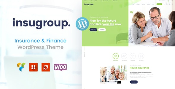 Insugroup | A Clean Insurance & Finance WordPress Theme - Business Corporate