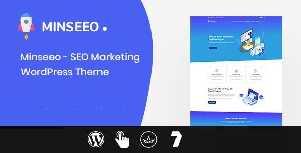 Minseeo - SEO Marketing WordPress Theme - Marketing Corporate