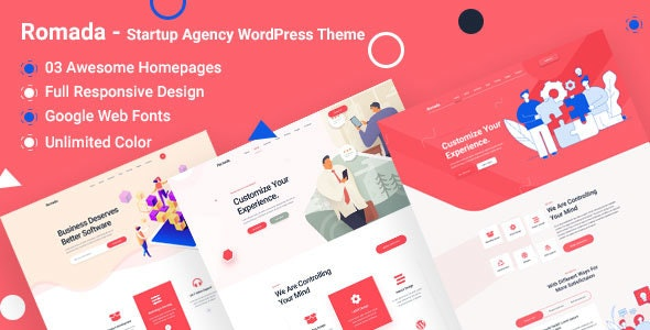 Romada - Startup Agency WordPress - Technology WordPress