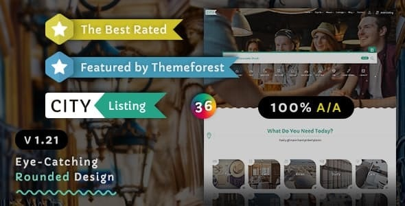 City Listing - Directory Template - Business Corporate
