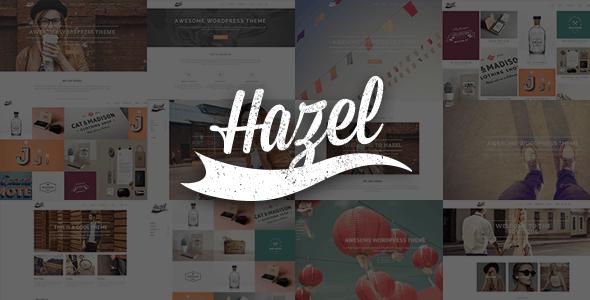 Hazel - Creative Multi-Concept Theme