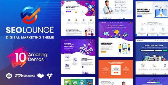 SEOLounge - SEO Digital Marketing Theme