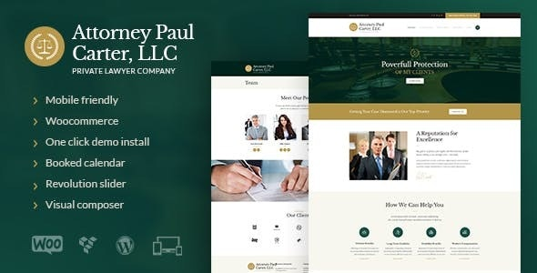 The Law - A Classic Legal Advisers & Attorneys WordPress Theme - Business Corporate