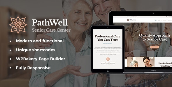 PathWell | A Senior Care Hospital WordPress Theme - Health & Beauty Retail