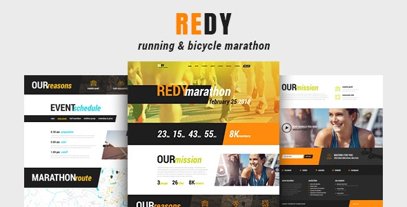 Redy | Marathon & Running Sports WordPress Theme - Health & Beauty Retail