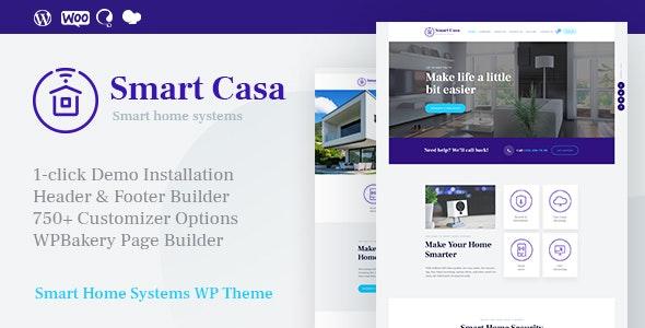 Smart Casa | Home Automation & Technologies WordPress Theme - Technology WordPress