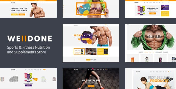 Most Powerful Sports and Fitness WordPress Themes