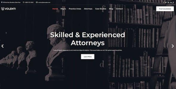 Volenti - Lawyers Elementor WordPress Theme