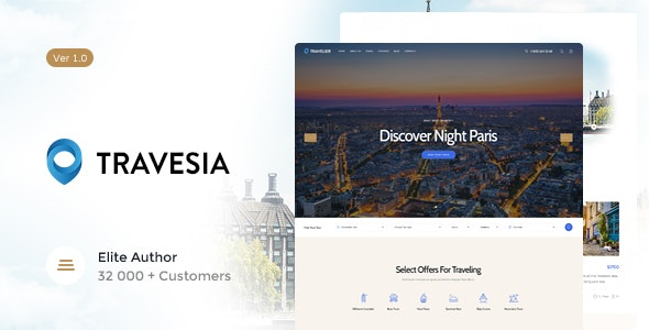 Travesia | A Travel Agency and Booking WordPress Theme - Travel Retail