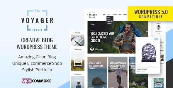 Voyager — Creative Blog WordPress Theme - Blog / Magazine WordPress