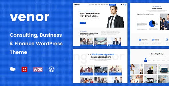 Venor - Business Consulting WordPress Theme