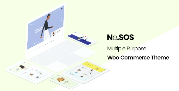 NeSOS - Multipurpose WooCommerce WordPress Theme - WooCommerce eCommerce