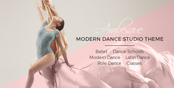 Arabesque - Modern Ballet School and Dance Studio Theme - Health & Beauty Retail