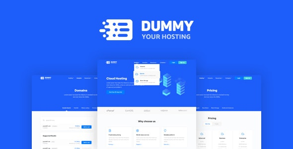 Dummy – High Performance Hosting Platform - Hosting Technology