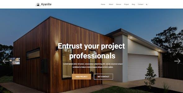 Kyanite - Interior Design & Architecture PSD Template