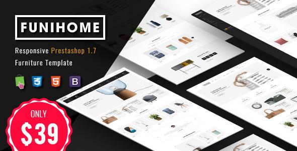 FuniHome - Responsive PrestaShop 1.7 Furniture Shop Theme - Shopping PrestaShop