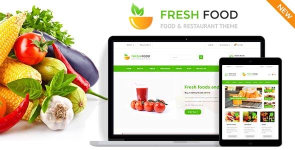 Fresh Food - PrestaShop Theme for Restaurant Stores