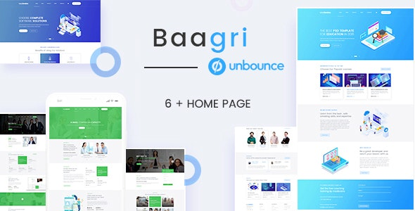 Baagri - Multipurpose Lead Generation Landing Pages - Unbounce Landing Pages Marketing