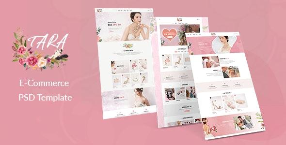 TARA - Multipurpose eCommerce PSD Template - Photoshop UI Templates
