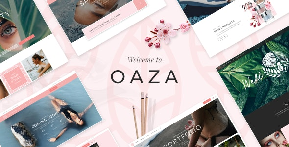 Oaza - Elegant Spa and Wellness Theme - Health & Beauty Retail