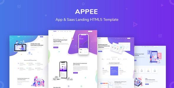 Appee - SaaS, Software & WebApp Template - Software Technology