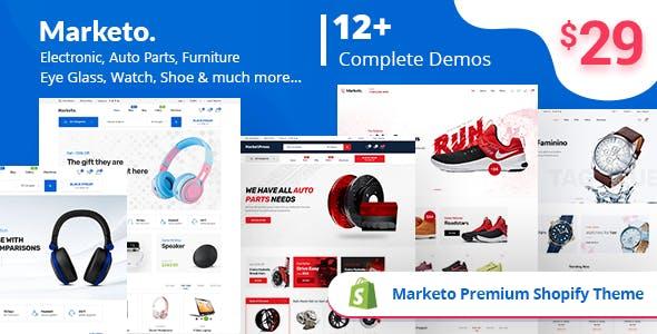 Marketo - eCommerce Shopify Theme