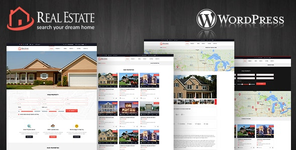 Real Estate Wordpress Theme - Real Estate WordPress