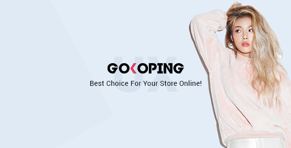 GoKoPing - eCommerce PSD Template - Fashion Retail