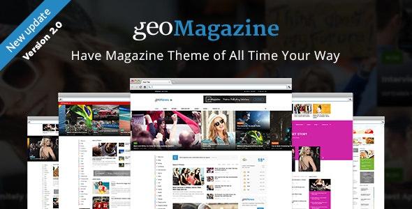 Geo Magazine | Modern Responsive Newspaper  | News Portal WordPress Theme - Blog / Magazine WordPress