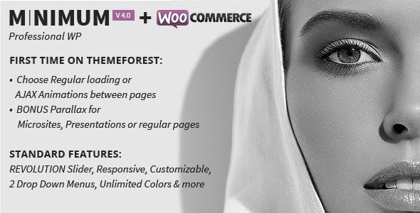 MINIMUM - Professional WordPress Theme