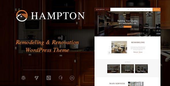 Hampton | Home Design and House Renovation WordPress Theme