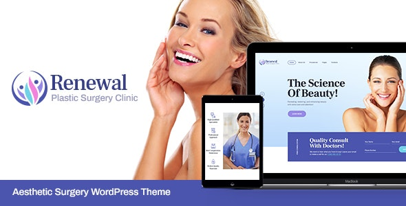 Renewal | Plastic Surgery Clinic Medical WordPress Theme - Health & Beauty Retail