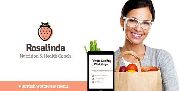 Rosalinda | Health Coach & Vegetarian Lifestyle Blog WordPress Theme - Health & Beauty Retail
