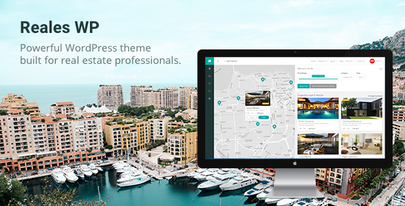 Reales WP - Real Estate WordPress Theme - Real Estate WordPress