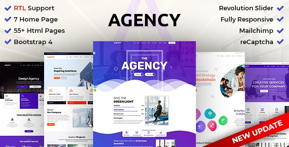 Agency | Creative Multipurpose HTML with RTL Ready - Creative Site Templates