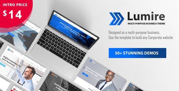 Lumire - Multi-Purpose Business Template