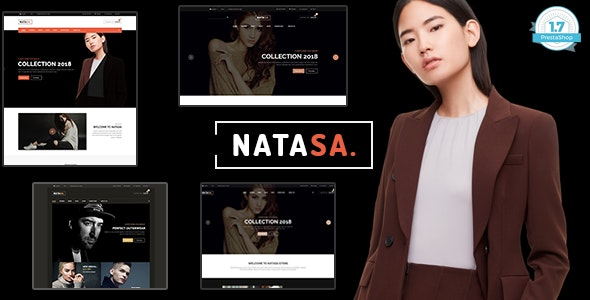 Natasa - T-shirt Fashion Shopping PrestaShop 1.7 Theme - Fashion PrestaShop