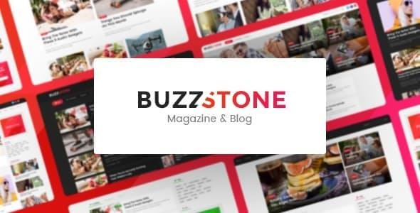 Buzz Stone | Magazine & Viral Blog WordPress Theme