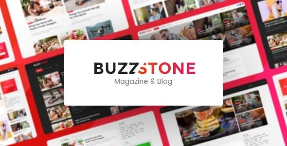 Buzz Stone | Magazine & Viral Blog WordPress Theme - News / Editorial Blog / Magazine