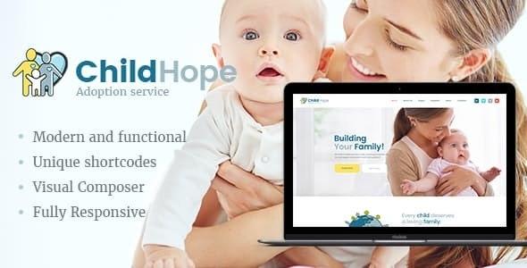 ChildHope | Child Adoption Service & Charity Nonprofit WordPress Theme - Charity Nonprofit
